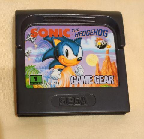 Sega Game Gear - Sonic the Hedgehog