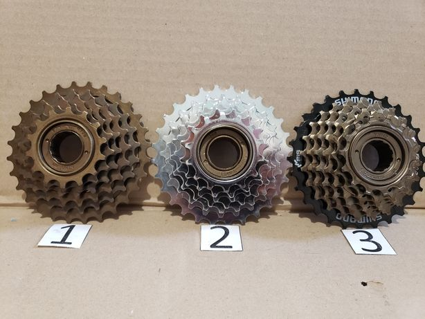 Кассеты, трещетки для велосипеда 7;8;9 скоростей Shimano