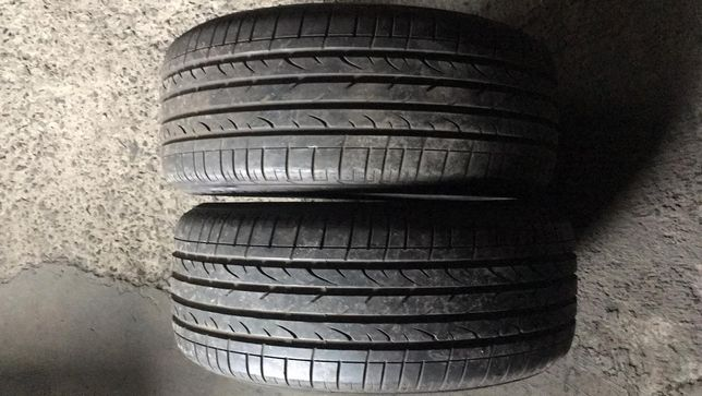 Пара 255/55R18 Bridgestone Dueler H/P Sport летняя резина