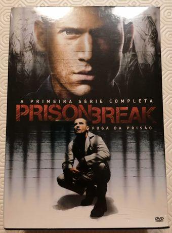 Prision Break - A 1ª série completa - Caixa com 6 DVDs NOVO e fechado