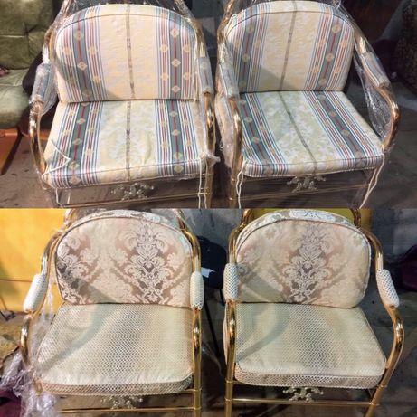 Перетяжка стульев, диванов Киев. Замена обивки. Ремонт мягкой мебели
