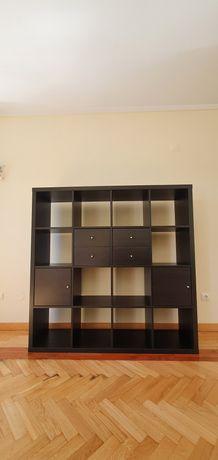 Estante Kallax 16 cubos com acessórios IKEA