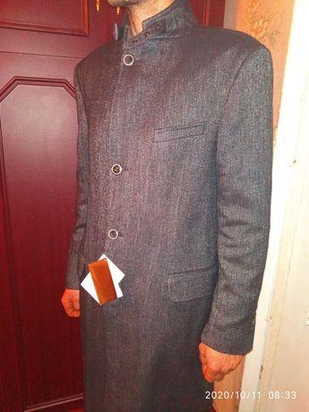 Пальто, куртка Zara XL, новое с биркой 47% шерсть, 25% коттон