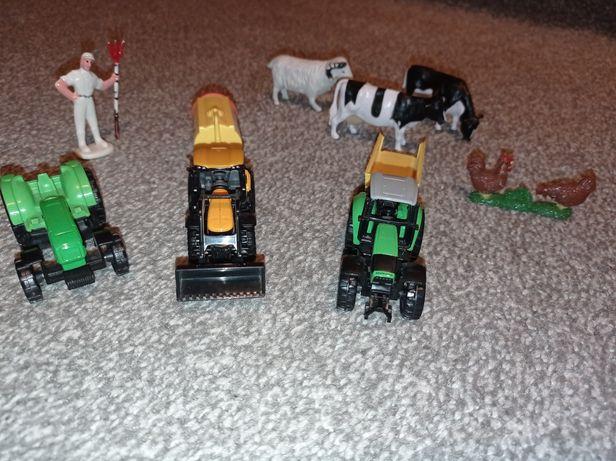 Farma zestaw nr 3 traktor, przyczepa, zwierzęta