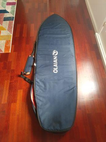 """Capa de viagem para prancha surf Olaian 6'3"""""""