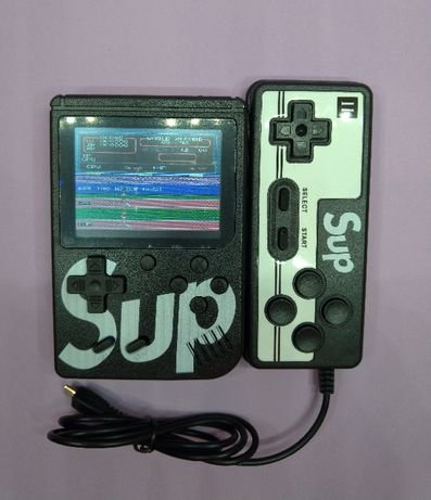 Gаmе Вох 400 ігор денді 8 bit нова портативна приставка консоль з 2-а