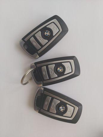 Kluczyk BMW serii F chrom Luxury