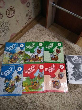 Английские учебники и тетради Fly High 2,3,4