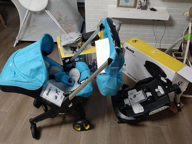 Коляска-трансформер Doona+(коляска,автокресло,качалка)база,аксессуары