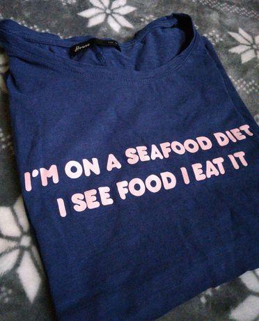 koszulka i'm on a seafood diet house