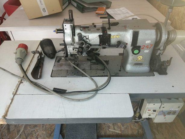 Maszyna do szycia odszywania kieszeni Adler durkopp paspelówka