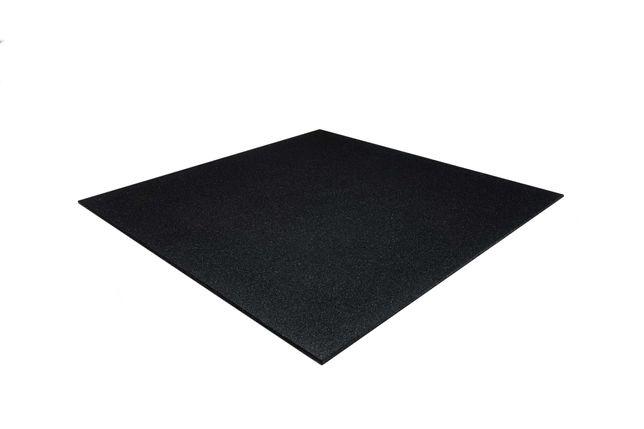 Placas - Pavimentos de Borracha . Pisos Ginásios 1100x1100x10