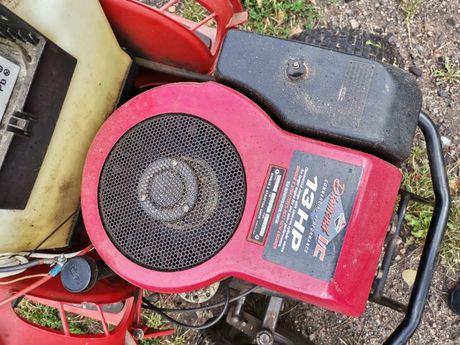 traktorek glebogryzarka z podnosnikiem i przekładniami silnik  13 koni