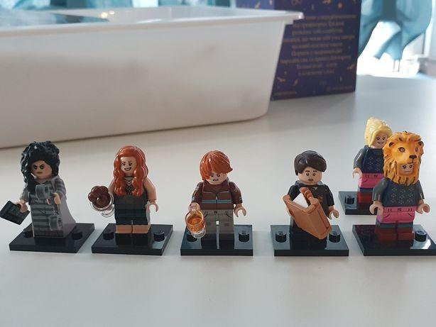 Harry Potter minifigures lego Гарри Поттер минифигурки лего