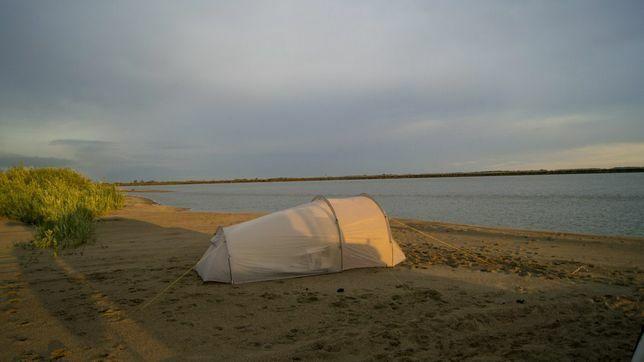 Кемпинговая палатка OCK GETAWAY 2+1 (Дуги: Дюралюминий)