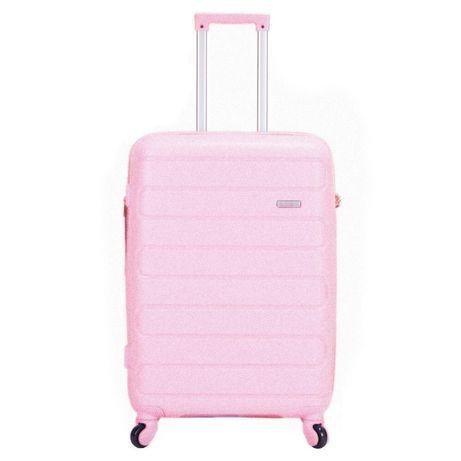 Nowa różowa walizka torba podrózna na kołkach duża pink