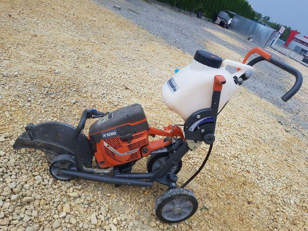 Piła husqvarna k1260 do betonu  asfaltu z wózkiem Husqvarna