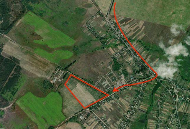 Земельна Ділянка 2-20Га ОСГ 30км (25хв) від Києва по трасі Київ-Чоп