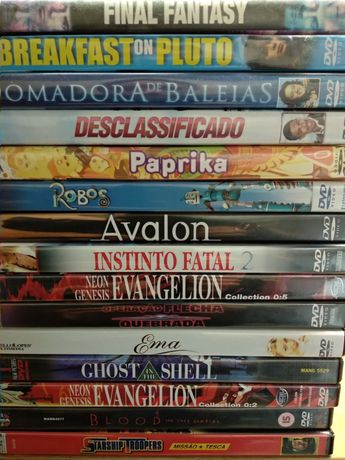 15 filmes em DVD
