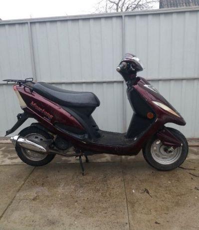 Скутер мотоцикл мопед musstang