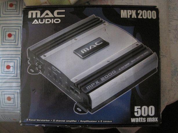 Amplificador auto mac