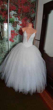Продам свадебное очень пышное платье