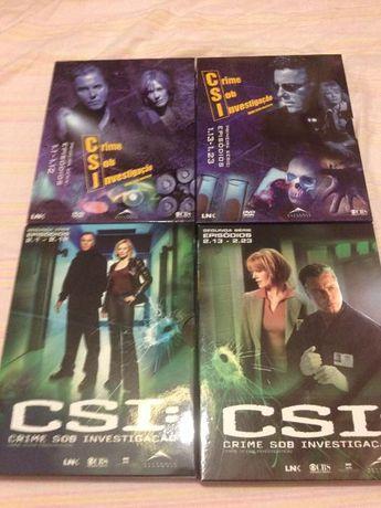 DVD série ''CSI Las Vegas''