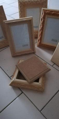 Caixa de madeira para pintar