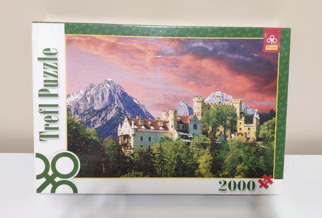 Puzzle Trefl 2000 elementów NOWE, zafoliowane