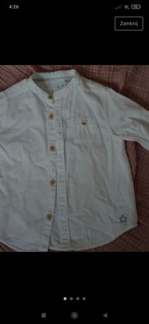 Koszula biała zara