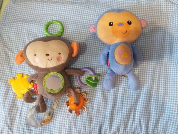 małpki Fisher Price światło dzwięk