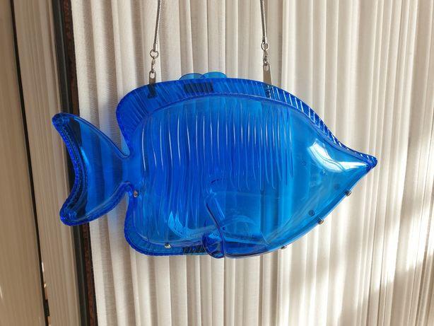 Zara torebka kuferek rybka