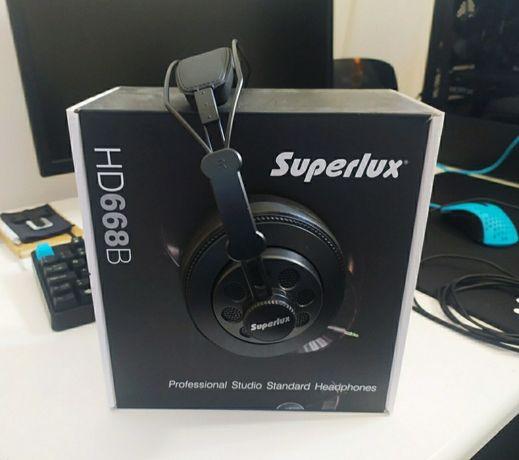 Fones Superlux HD668B