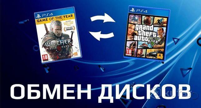 Обмен игр playstation 4 PS4 игры