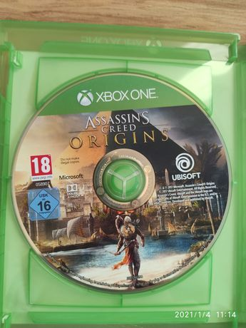 Assassins Creed Origins PL Xbox One