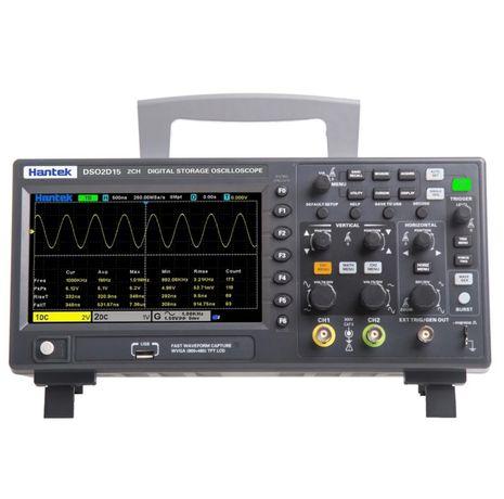 Osciloscópio 150 MHz com gerador funções 2D15