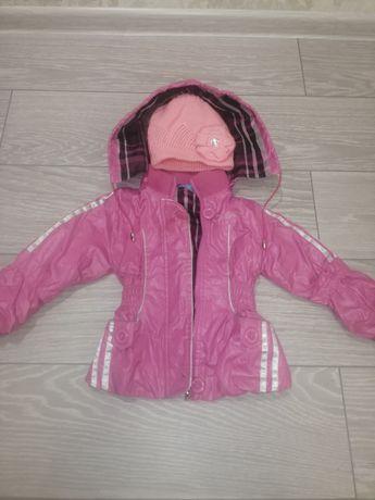 Весенние-осенняя куртка+бонус для девочки