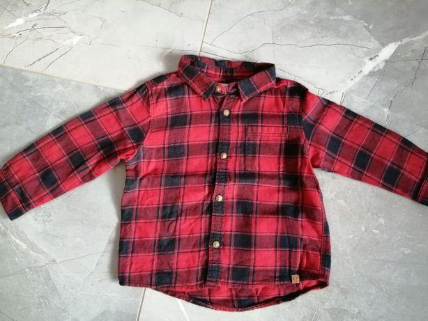 Koszula w kratę Zara