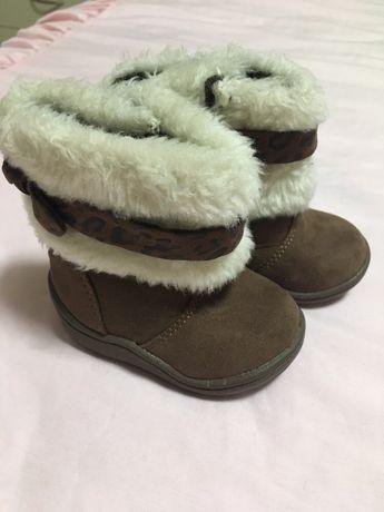Обувь на малышку 12-18 мес. / сапожки / тапочки / пинетки / нарядные