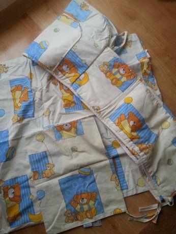 pościel dziecięca dla dziecka osłonka do łóżeczka