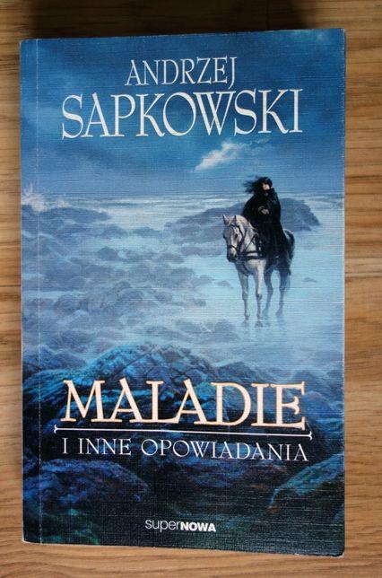 Maladie i inne opowiadania - Andrzej Sapkowski (stan bdb)