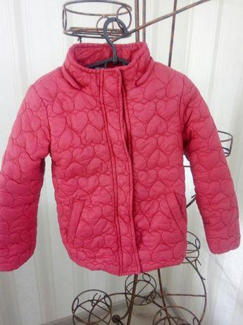 Куртка стеганая на 116-122