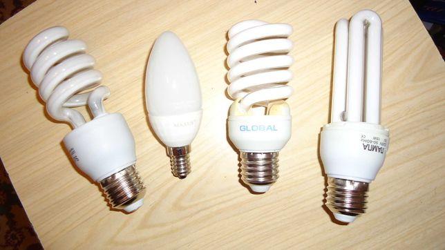 Лампы светодиодные экономки нерабочие
