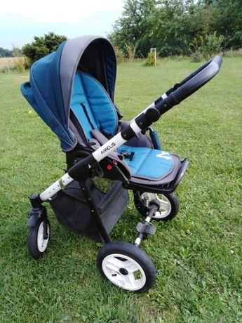 Wózek Amelis dwuczęściowy (gondola i spacerówka]