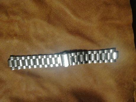 Sprzedam stalową bransoletę do zegarka szer 20mm