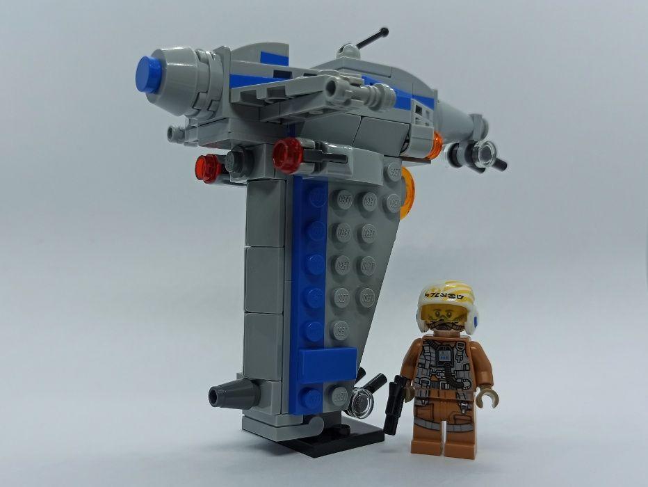 LEGO Star Wars Resistance Bomber microfighter Bytom - image 1