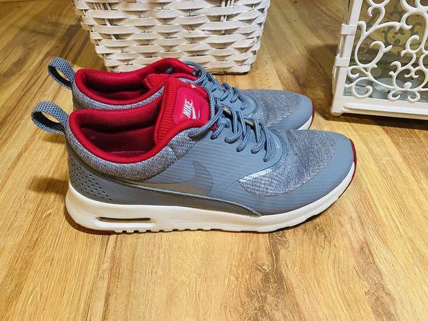 Nike air max thea 38 szaro- różowe