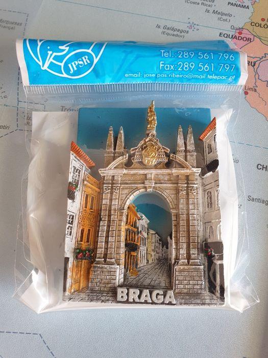Íman / Magnético Cidade de Braga. Vila do Porto - imagem 1