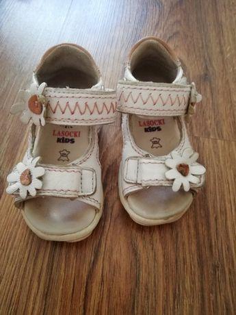 Sandałki Lasocki r 19 dziewczynka