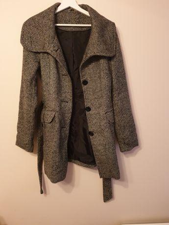 Płaszcz szary Orsay jesienno zimowy